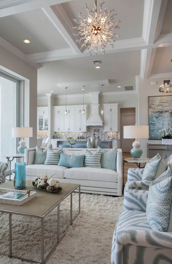 Beach House Living Room Decor