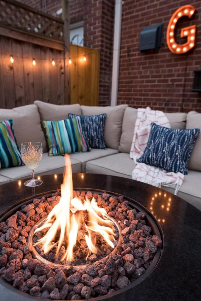 Stay Warm and Bright with an Outdoor Fire Pit