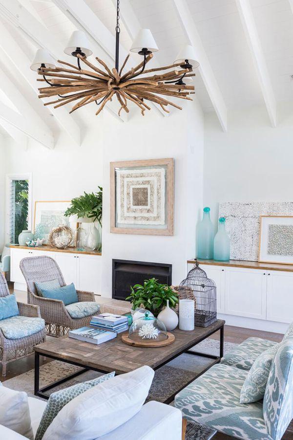 Beach House Interior Design Ideas for Living Rooms
