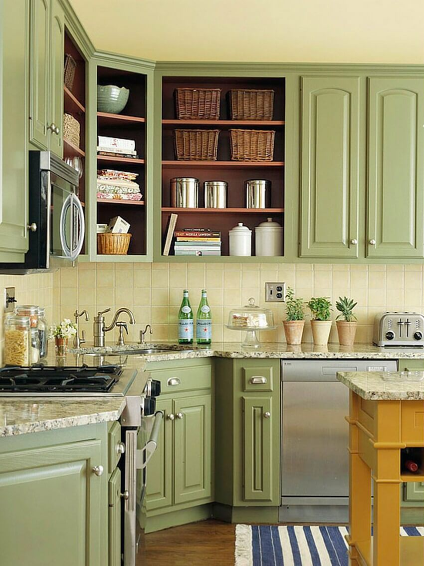 23 Best Kitchen Cabinets Painting Color Ideas And Designs For 2021