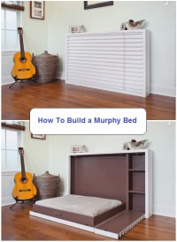 18 Best DIY Murphy Bed Ideas and Designs for 2018