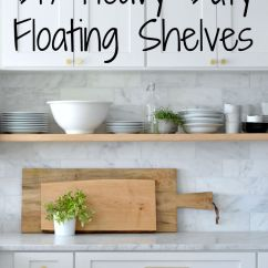Kitchen Shelves Ideas Franke Faucet 27 Best Diy Floating Shelf And Designs For 2019 Heavy Duty Culinary Storage The