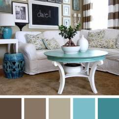 Living Room Colors Side Table For 11 Best Color Scheme Ideas And Designs 2019 2 The Earth Sky In Harmony