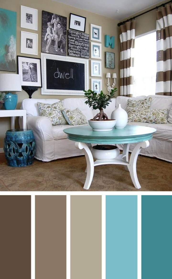 Living room color schemes photos for The living room 002