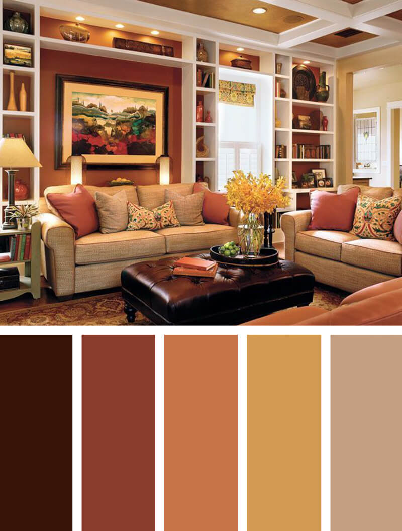 orange living room designs photos of rooms 11 best color scheme ideas and for 2019 5 harvest spice everything nice