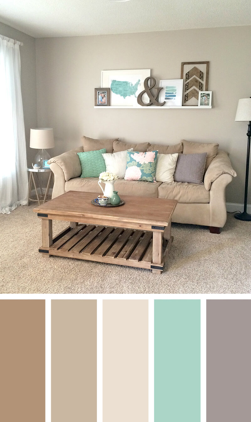 color for living rooms grey white orange room 11 best scheme ideas and designs 2019 9 sand sea glass comfortable beach style