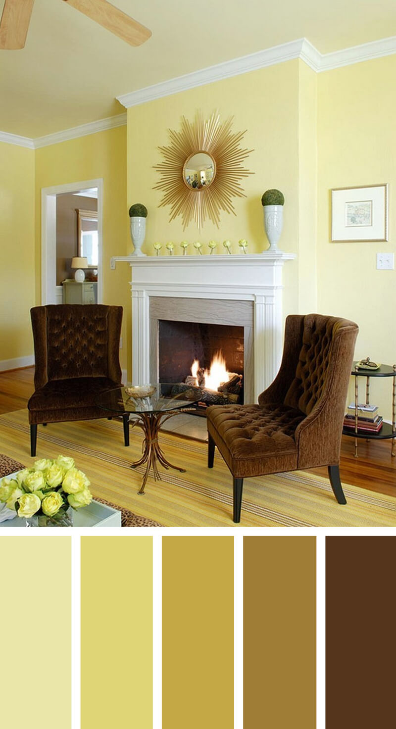 living room colors oak furniture sale 11 best color scheme ideas and designs for 2019 10 warm reflections on a golden afternoon