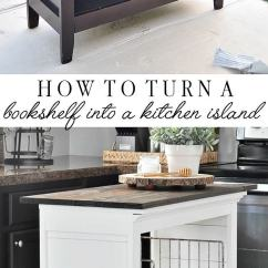 Cheap Kitchen Island Ideas Small Lighting 23 Best Diy And Designs For 2019 Give An Old Bookshelf A New Life As