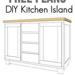 Cheap Kitchen Island Ideas The Best Way To Clean Cabinets 23 Diy And Designs For 2019 Find Free Tutorials Online