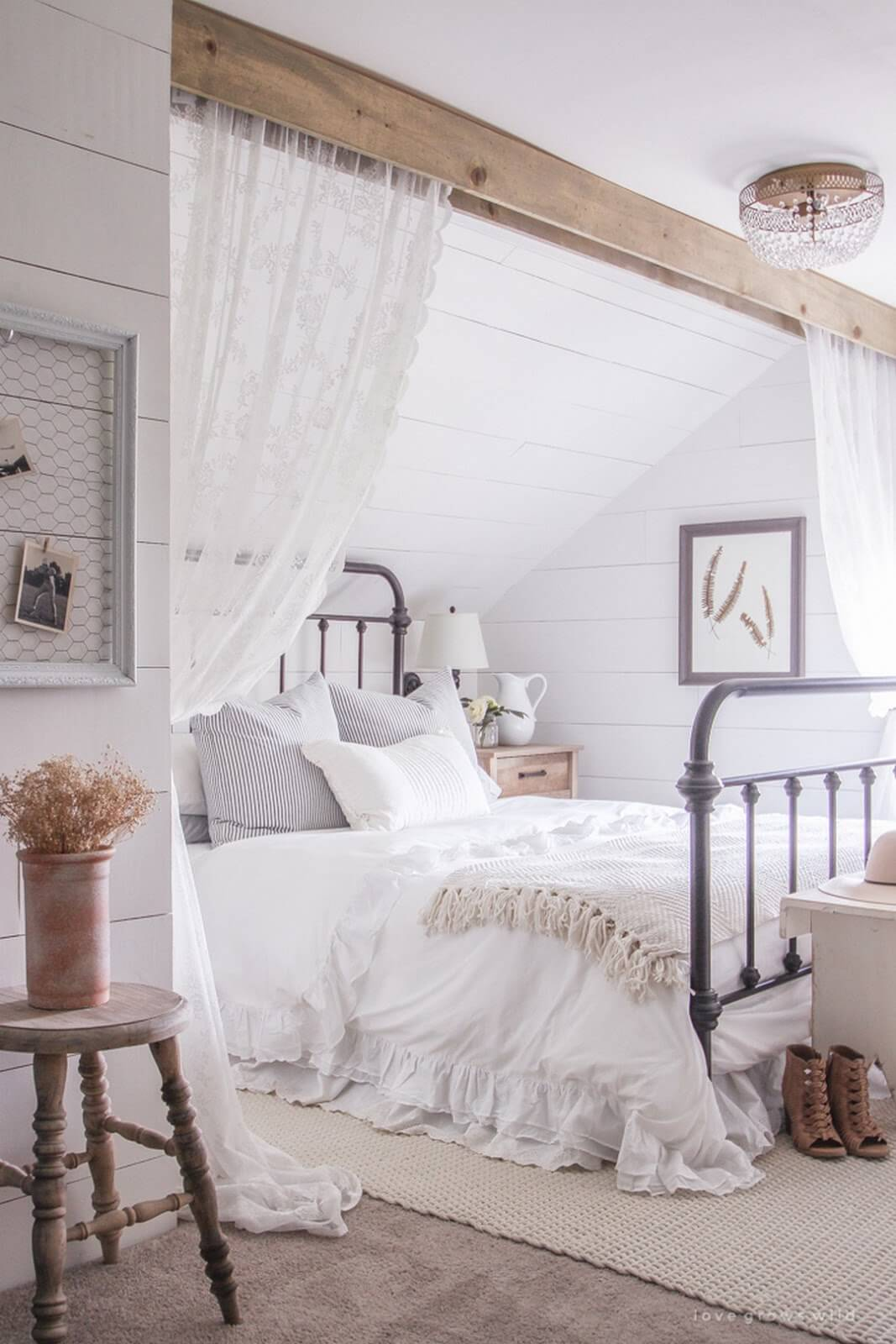 title | Rustic Chic Bedroom Ideas