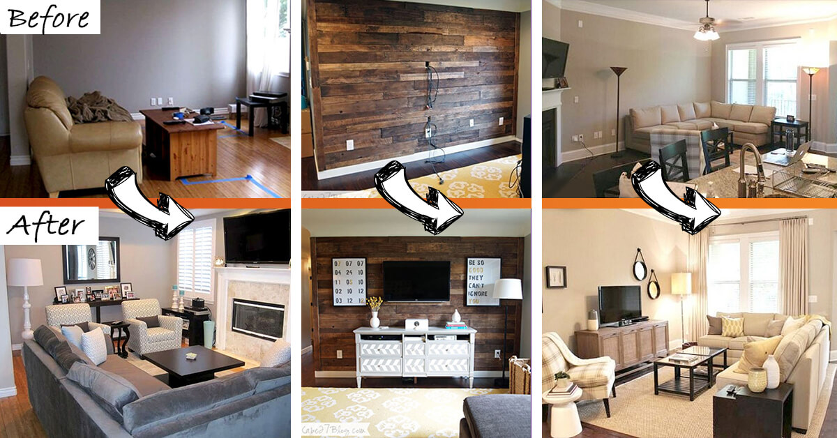 ideas to decorate living room cheap modern interior design photos 26 best budget friendly makeover for 2019 before and after makeovers inspire you