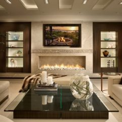 Modern Living Room Decor Pics Chair Seat Covers 26 Best Decorating Ideas And Designs For 2019 Fireplace Wood Warm In Rooms