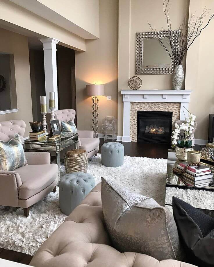 23 Best Beige Living Room Design Ideas for 2019