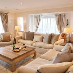 Living Room Desings How To Arrange A With No Tv 23 Best Beige Design Ideas For 2019 10 Well Lit Spaces Look In