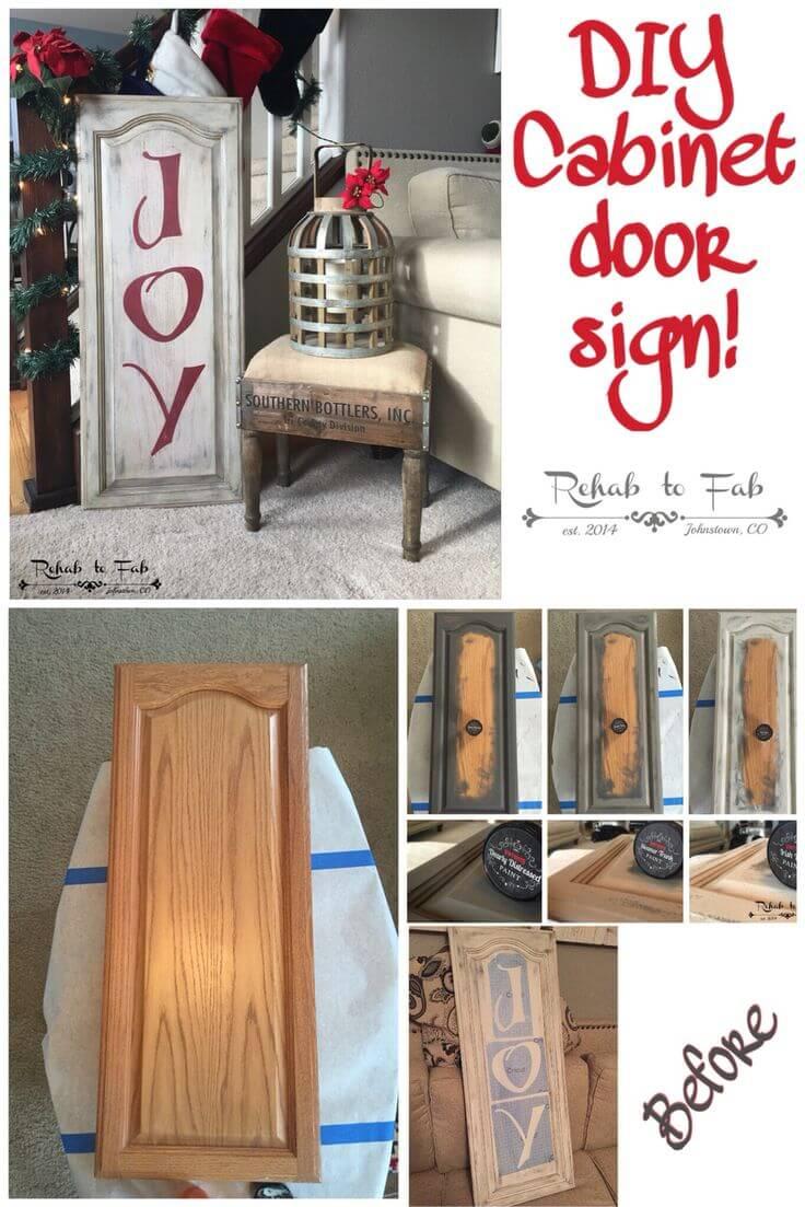 21 Best Repurposed Cabinet Door Ideas and Designs for 2017