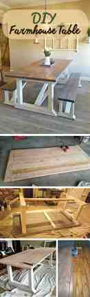 17 Best Rustic Diy Farmhouse Table Ideas And Designs For 2020
