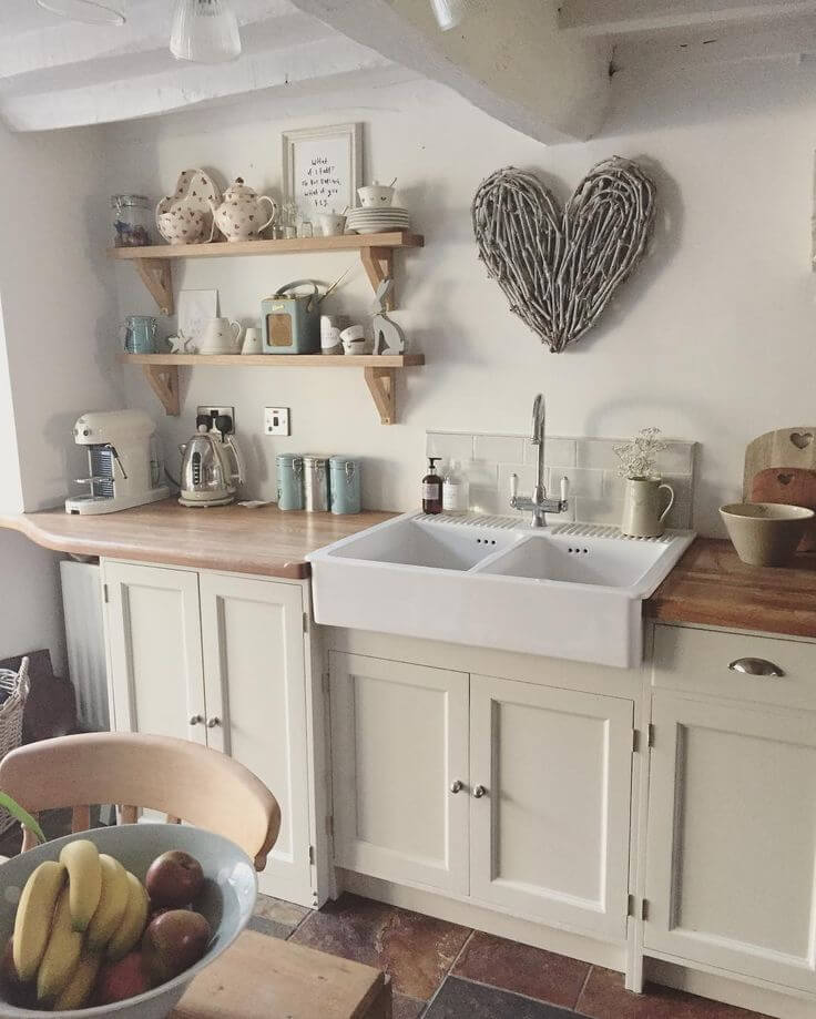 ikea kitchen sink accessories blanco sinks 23 best cottage decorating ideas and designs for 2019