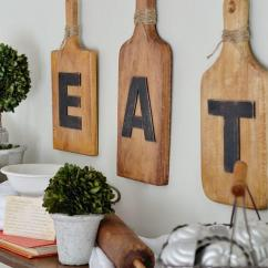 Kitchen Art Decor Coolest Gadgets 36 Best Wall Ideas And Designs For 2019 Wood Cutting Board Eat