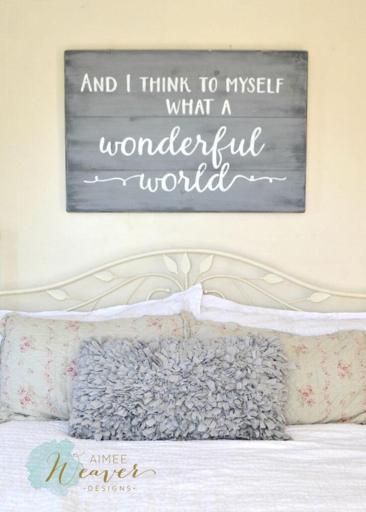 26 Best Rustic Wood Sign Ideas And Designs With Inspirational Quotes For 2019