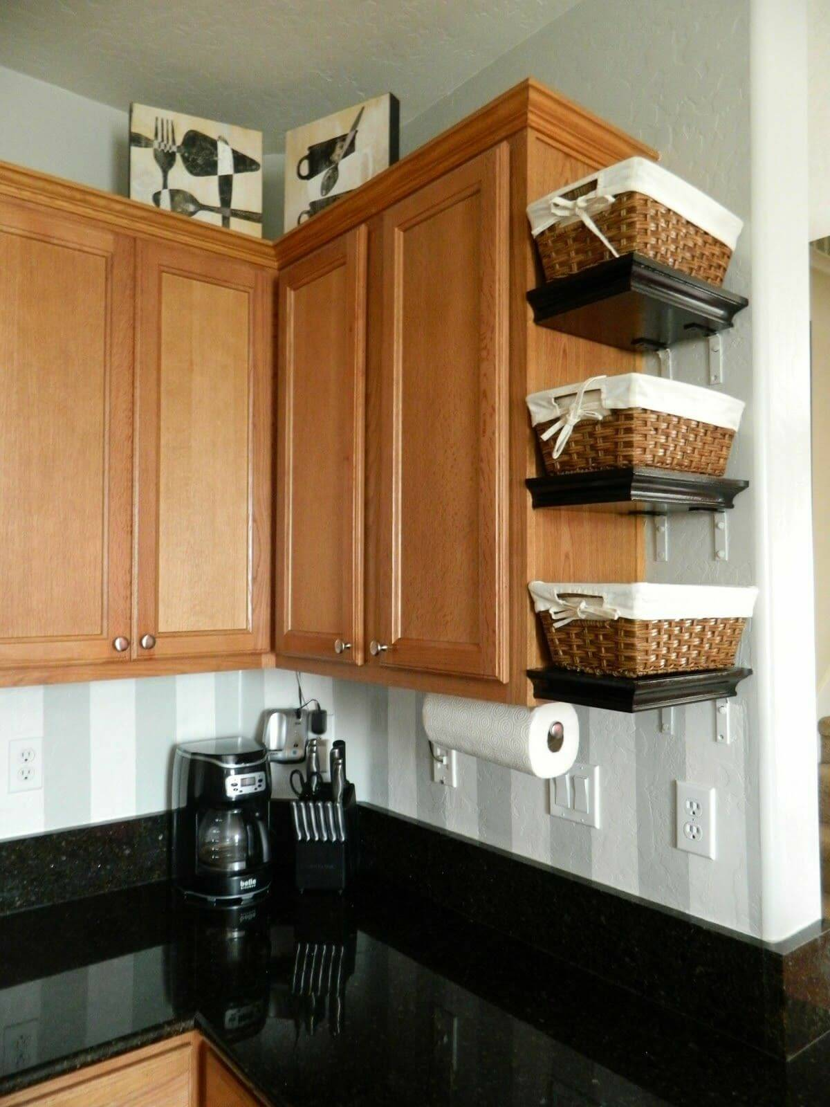 kitchen countertop shelf new appliances 23 best clutter free ideas and designs