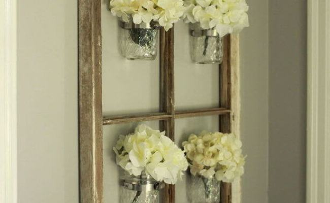 24 Best Mason Jar Wall Decor Ideas And Designs For 2019