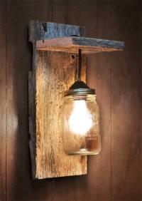 24 Best Mason Jar Wall Decor Ideas and Designs for 2018