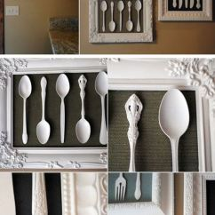 Art For Kitchen Wall Target Furniture 36 Best Decor Ideas And Designs 2019 Framed Vintage Silverware Project