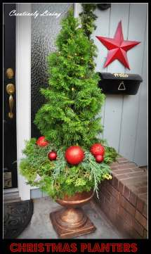 Outdoor Holiday Planter Ideas And Design 2019