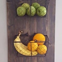 Kitchen Art Work Home Depot Island Lighting 36 Best Wall Decor Ideas And Designs For 2019 23 Diy Mounted Produce Baskets