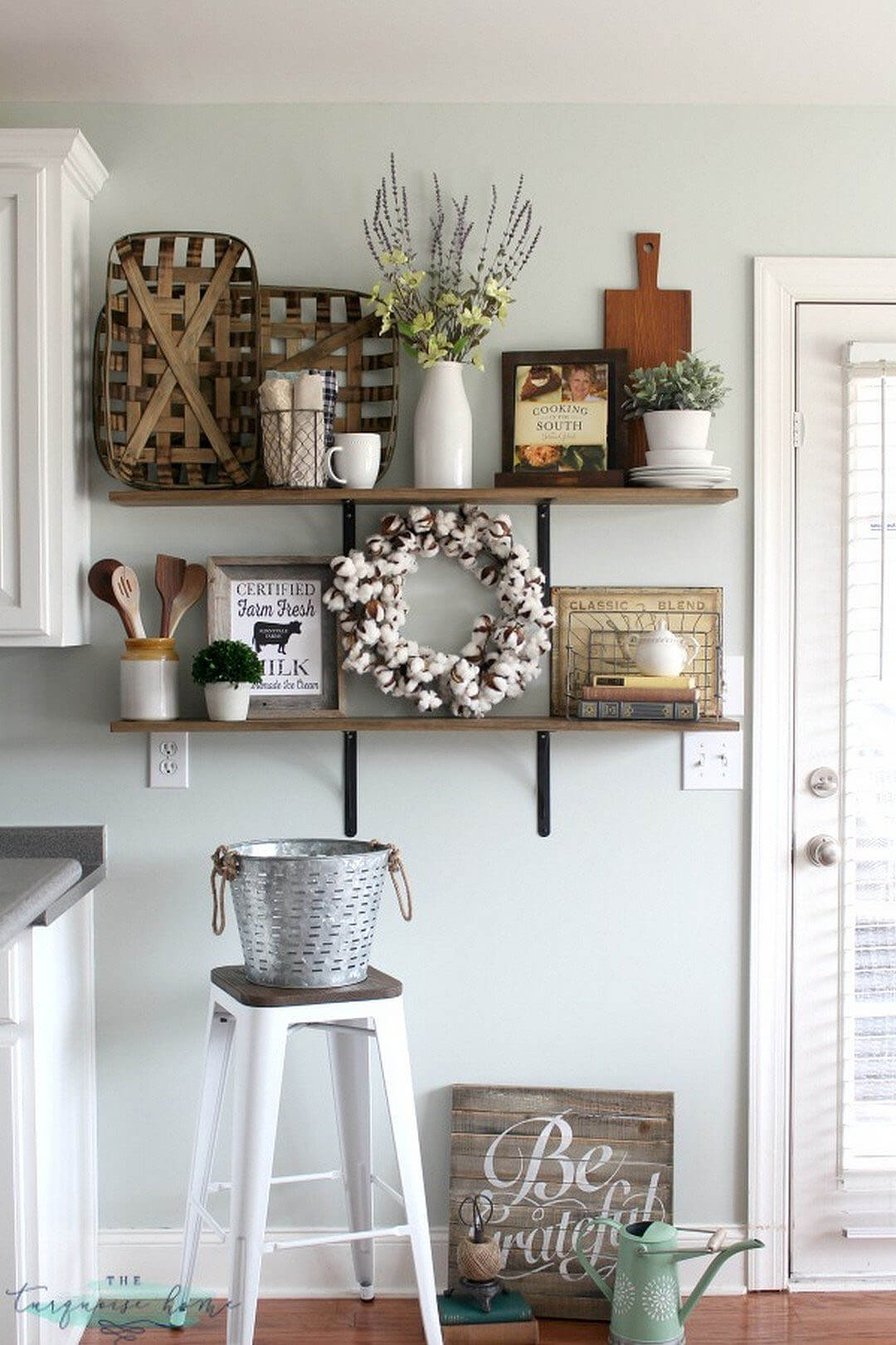 kitchen wall hangings renovation 36 best decor ideas and designs for 2019 rustic farmhouse shelf display