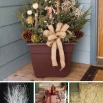 35 Best Outdoor Holiday Planter Ideas And Designs For 2020