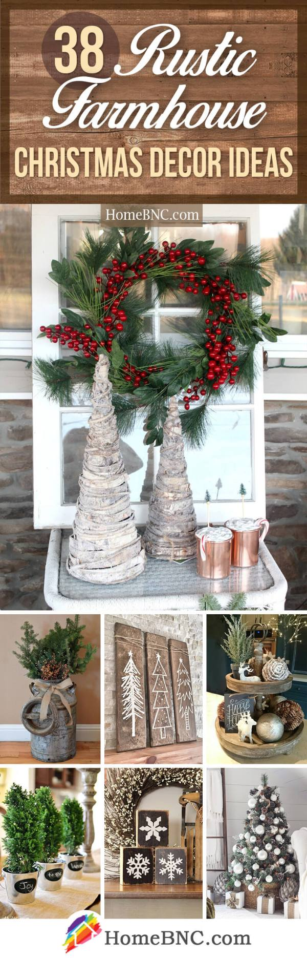 Rustic Farmhouse Christmas Decor Ideas