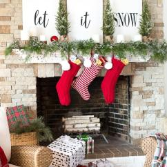 Christmas Decorating Ideas For A Small Living Room Shades Of Paint 32 Best Decor And Designs 2019 Three Words Stockings Presents