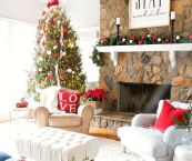 living room christmas ideas