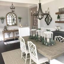 Farmhouse Dining Room Living Ideas