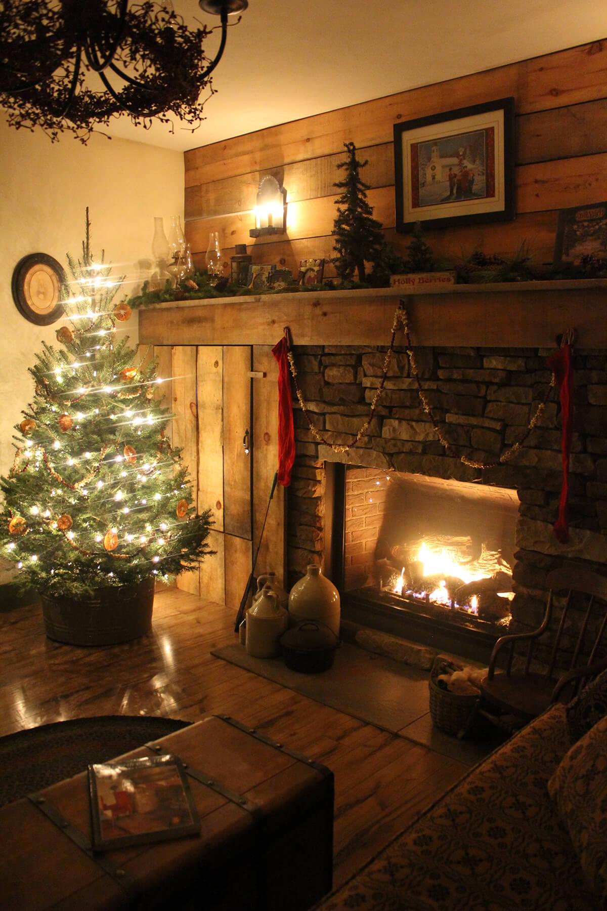 cascading christmas garland 6