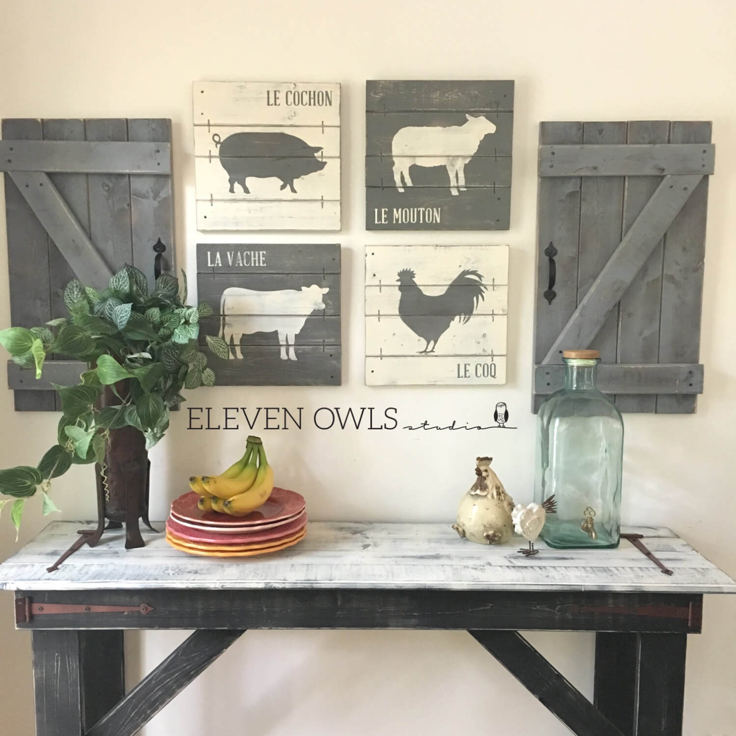 45 Best Farmhouse Wall Decor Ideas And Designs For