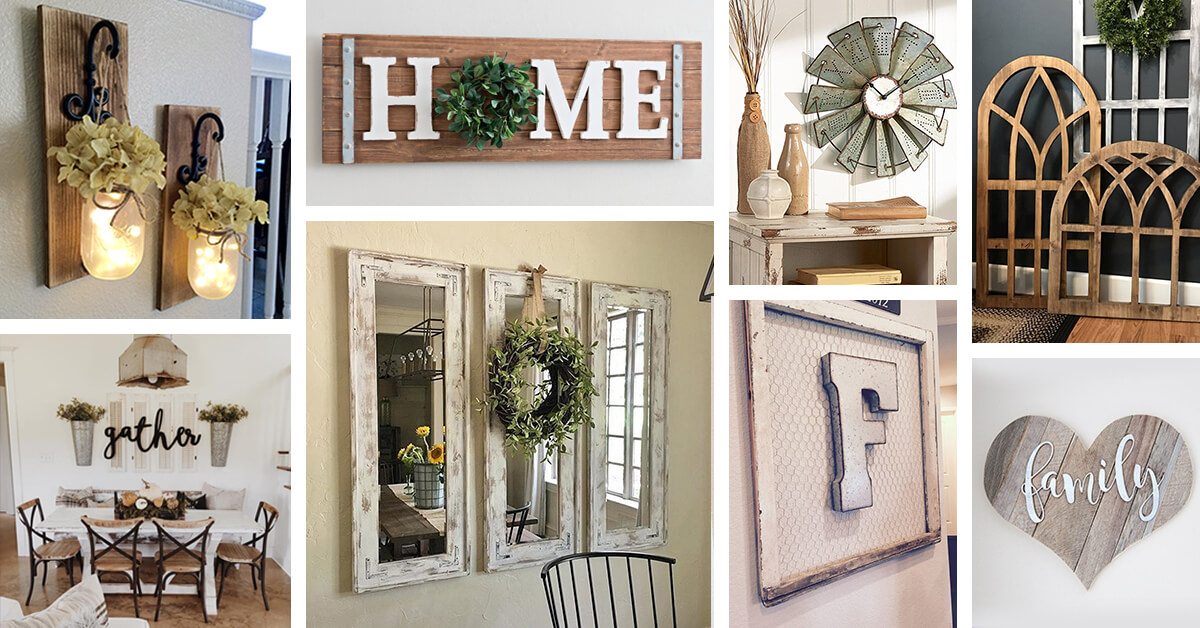 45 Best Farmhouse Wall Decor Ideas and Designs for 2019