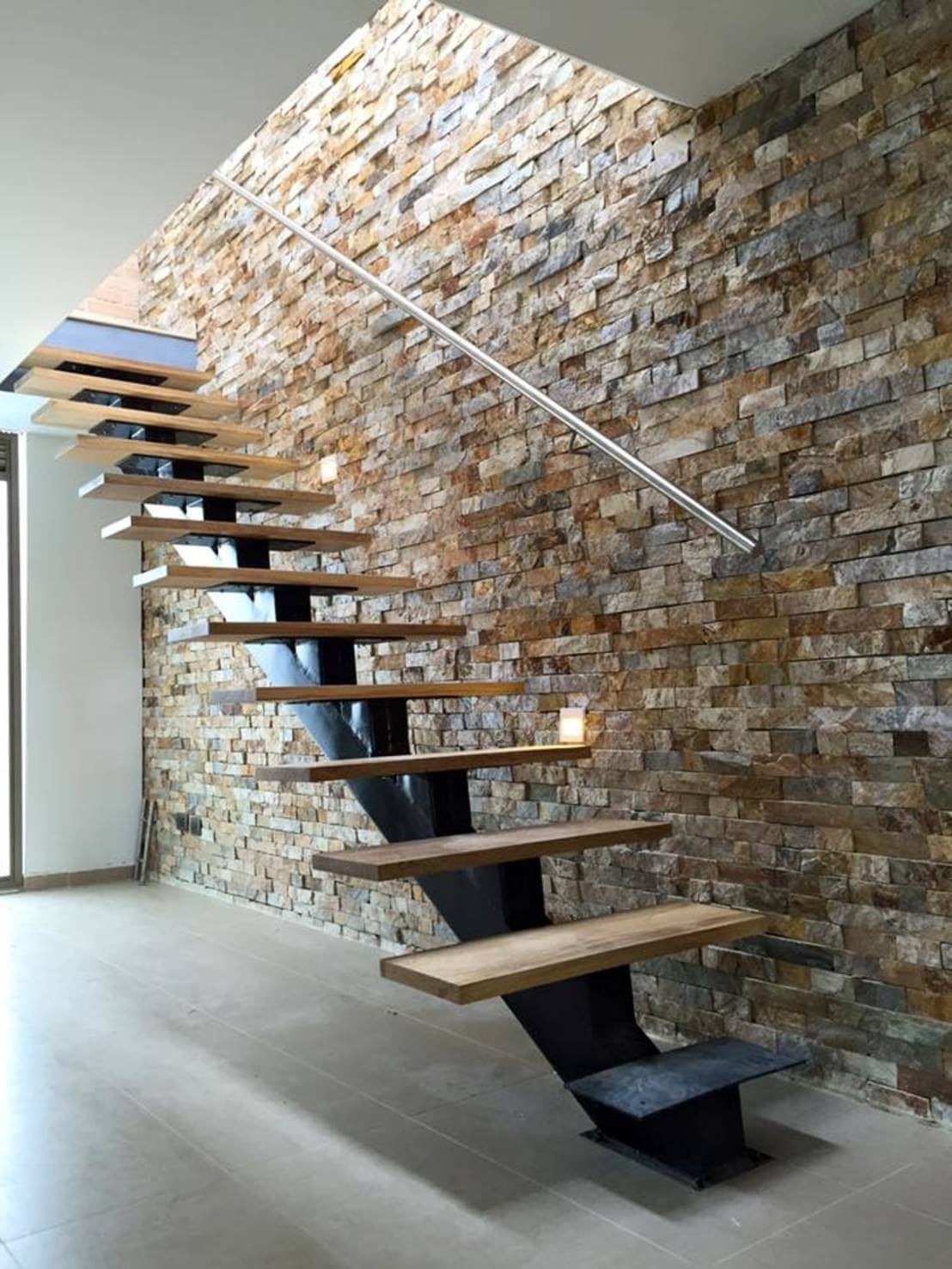 33 Best Interior Stone Wall Ideas And Designs For 2020 | Staircase Side Wall Designs Tiles | Decorative | Unusual | Wall Painting | Front House | Modern