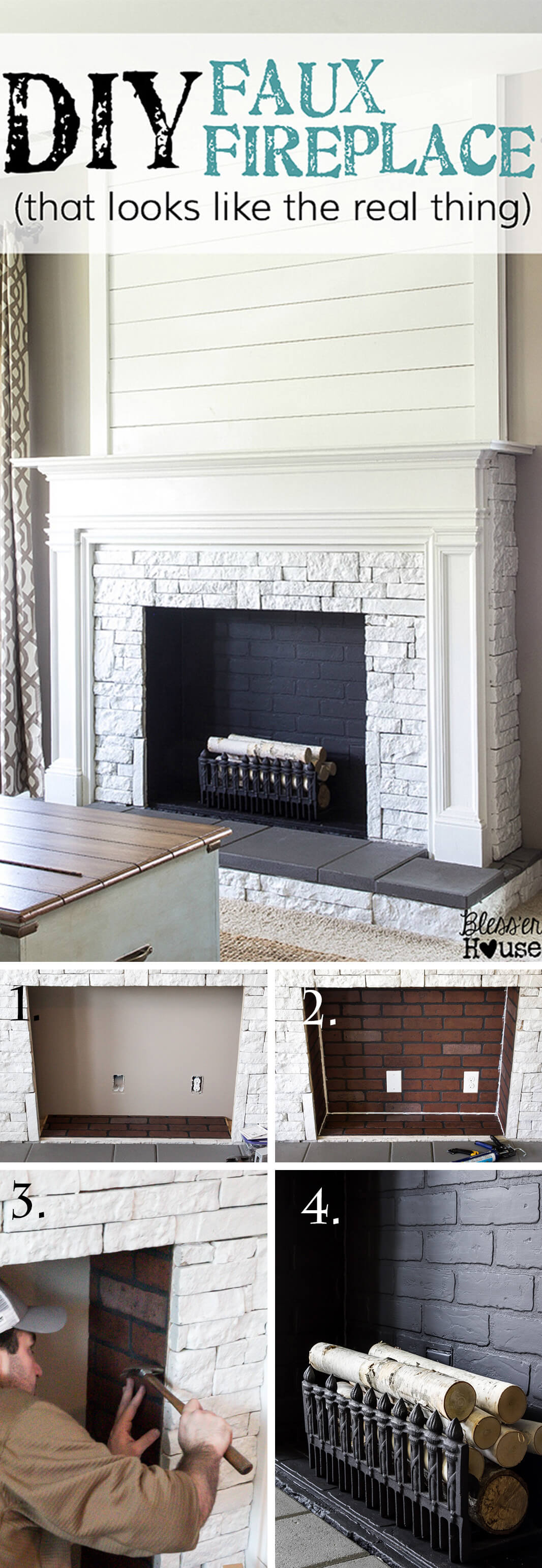 living room decorating pictures color schemes grey couch 45 best diy ideas and designs for 2019 a mock fireplace faux real