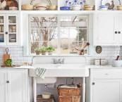 white vintage kitchen