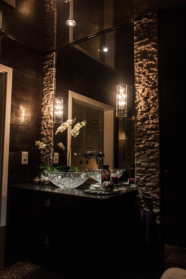 Hollywood Glam Bathroom Ideas