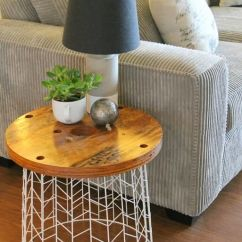 Diy Small Living Room Design Dark Brown Leather Furniture 45 Best Decorating Ideas And Designs For 2019 22 Easy Wire Basket Side Table Project