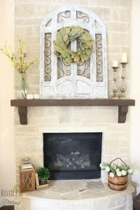 Fireplace Mantel Decor Rustic - Image Collections ...