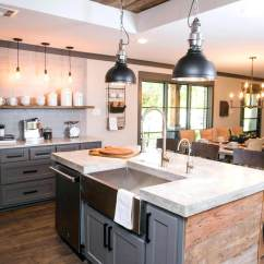 Farm Style Kitchen Sink Black 35 Best Farmhouse Cabinet Ideas And Designs For 2019