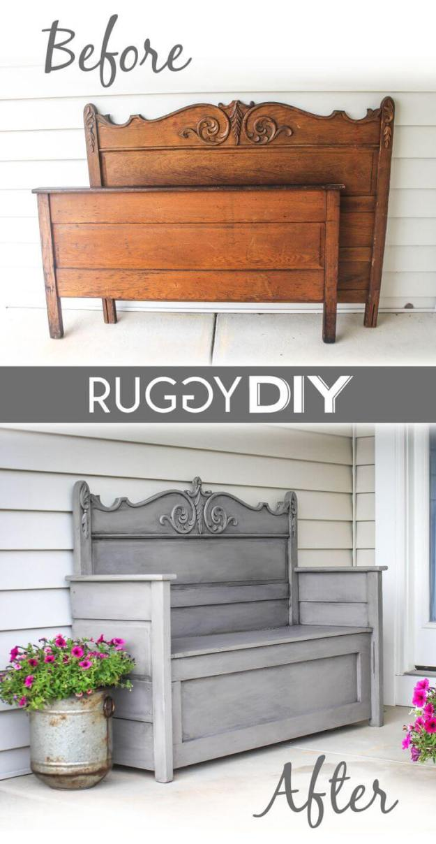 24 best old headboard upcycling ideas and designs for 2018