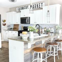 Farmhouse Kitchen Cabinets Valance 35 Best Cabinet Ideas And Designs For 2019