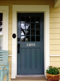 Exterior Door Color Ideas