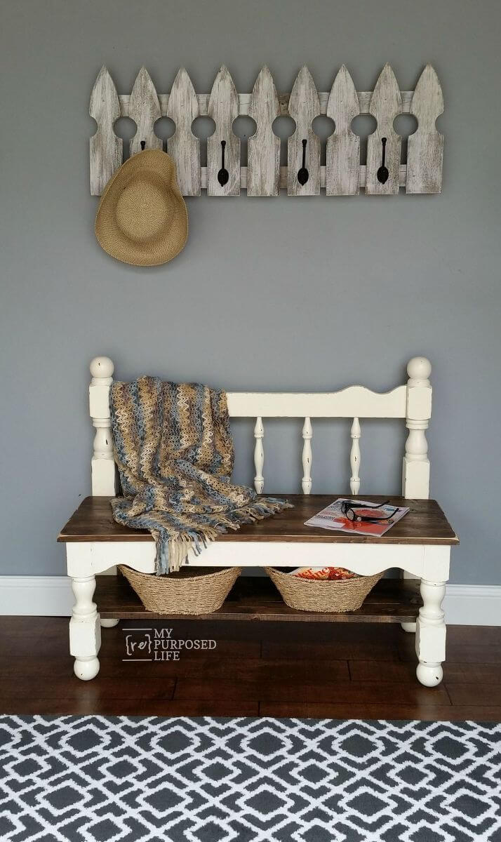 24 Best Old Headboard Upcycling Ideas And Designs For 2020