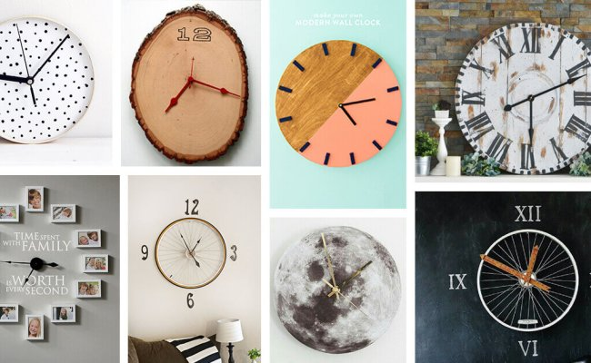 29 Best Diy Wall Clock Ideas And Designs For 2020